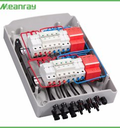 china pv junction box with mc4 connector and anti reverse 4 in 2 out dc ac abs combiner box china pv junction box combiner box with mc4 connector [ 1500 x 1500 Pixel ]
