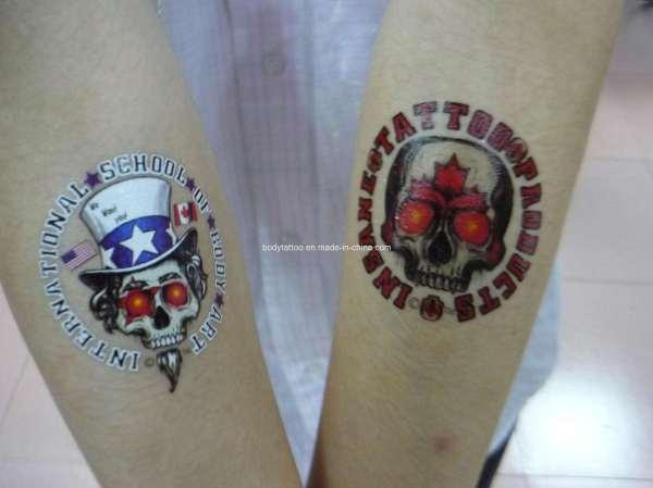 china custom temporary tattoos