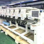 Chinese Computer Multi Head Embroidery Machine For Cap T Shirt Garment Embroidery Photos Pictures Made In China Com
