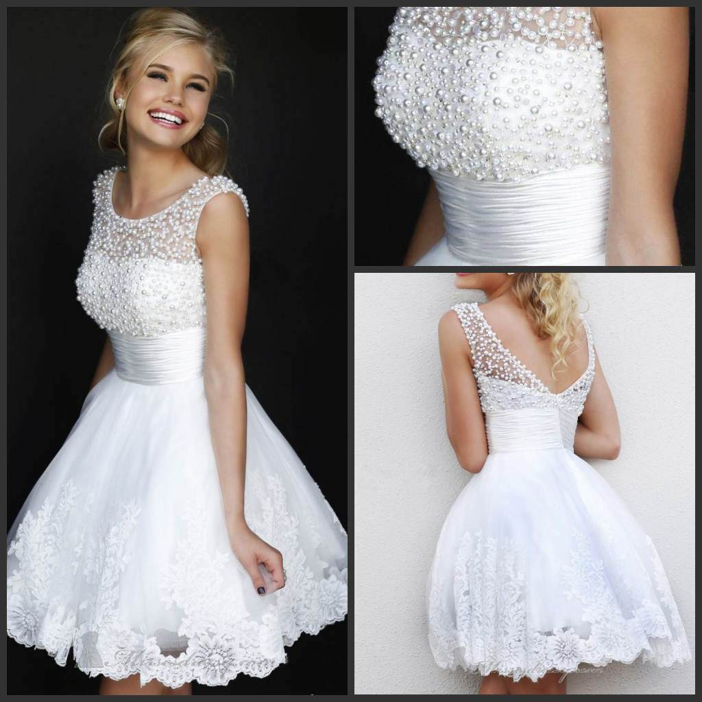 The Bridal Dress Short Bridal Gown Arent Short in Style