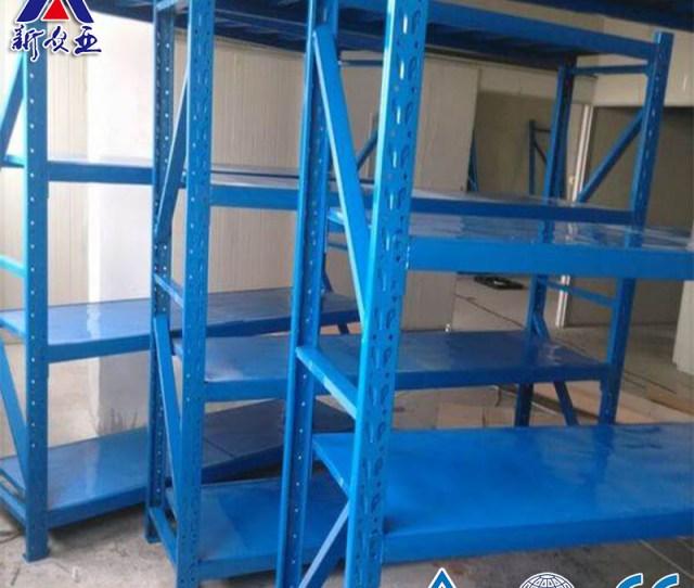 China Multi Tier Adjustable Industrial Shelving Units China Industrial Shelving Units Steel Shelf Storage Rack