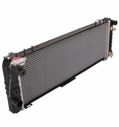 car radiator for jeep cherokee xj 4 1994 9 2001 auto manual premium quality [ 1000 x 1000 Pixel ]