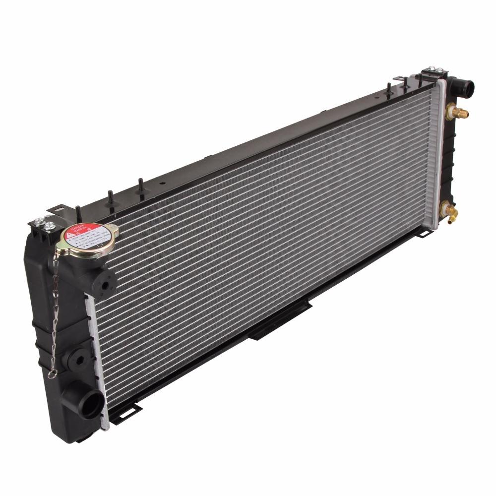 medium resolution of car radiator for jeep cherokee xj 4 1994 9 2001 auto manual premium quality