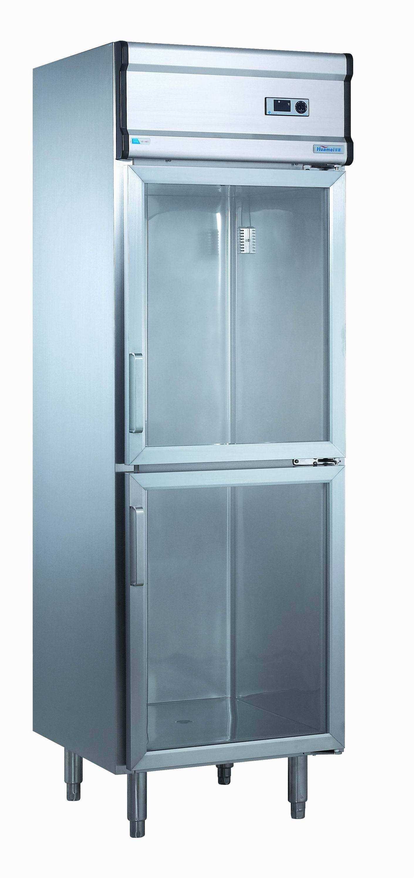 China 470L Commercial Refrigeration with Glass Doors