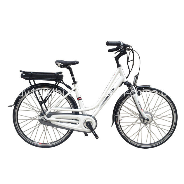 China 700ccdutch Style Electric Bikes with 36V10ah Samsung
