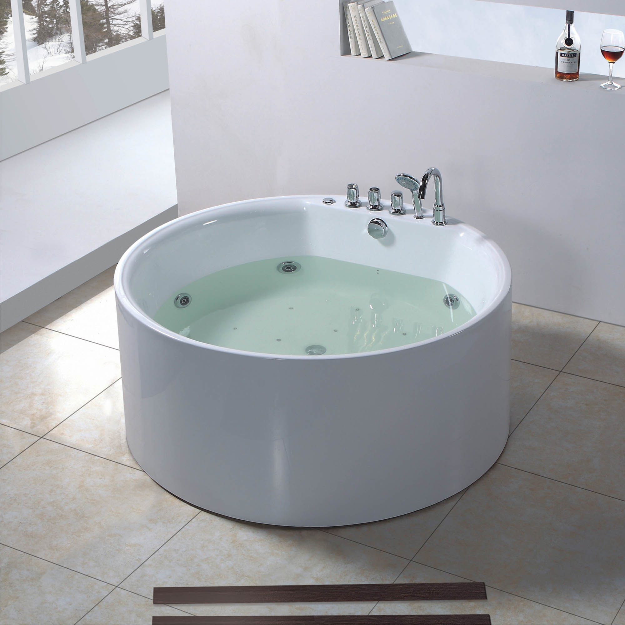 Round Shape Jacuzzi Bathtub BF 6627 Photos Amp Pictures