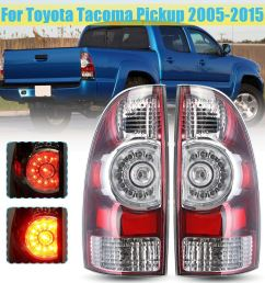 china for toyota tacoma pickup 2005 2015 left right tail light lamp with wire harness led rear tail light brake lamp china tail light tail light for  [ 1200 x 1200 Pixel ]
