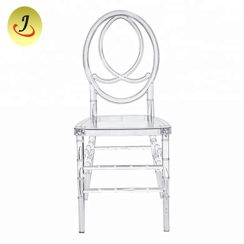 Plastic Clear Chair Hot Item Transparent Plastic Clear Resin Acrylic Wedding Chiavari Phoenix Chair