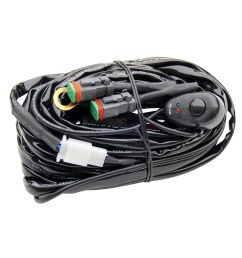 china one control two switch dt cable wire harness for led light bar china harness wire harness [ 1000 x 1000 Pixel ]