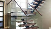 China Modern Design Steel Beam Stringer Open Staircase ...