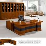 China Simple Wood Computer Desk Executive Office Desk With Locking Drawers Fec3112 China Executive Table Office Table