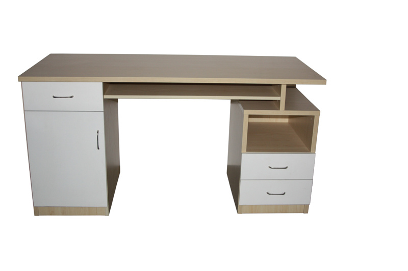 Office Table Wooden With Side Return