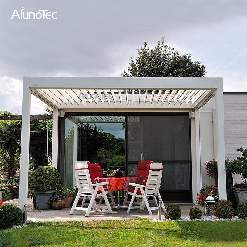 china electric patio furniture gazebo