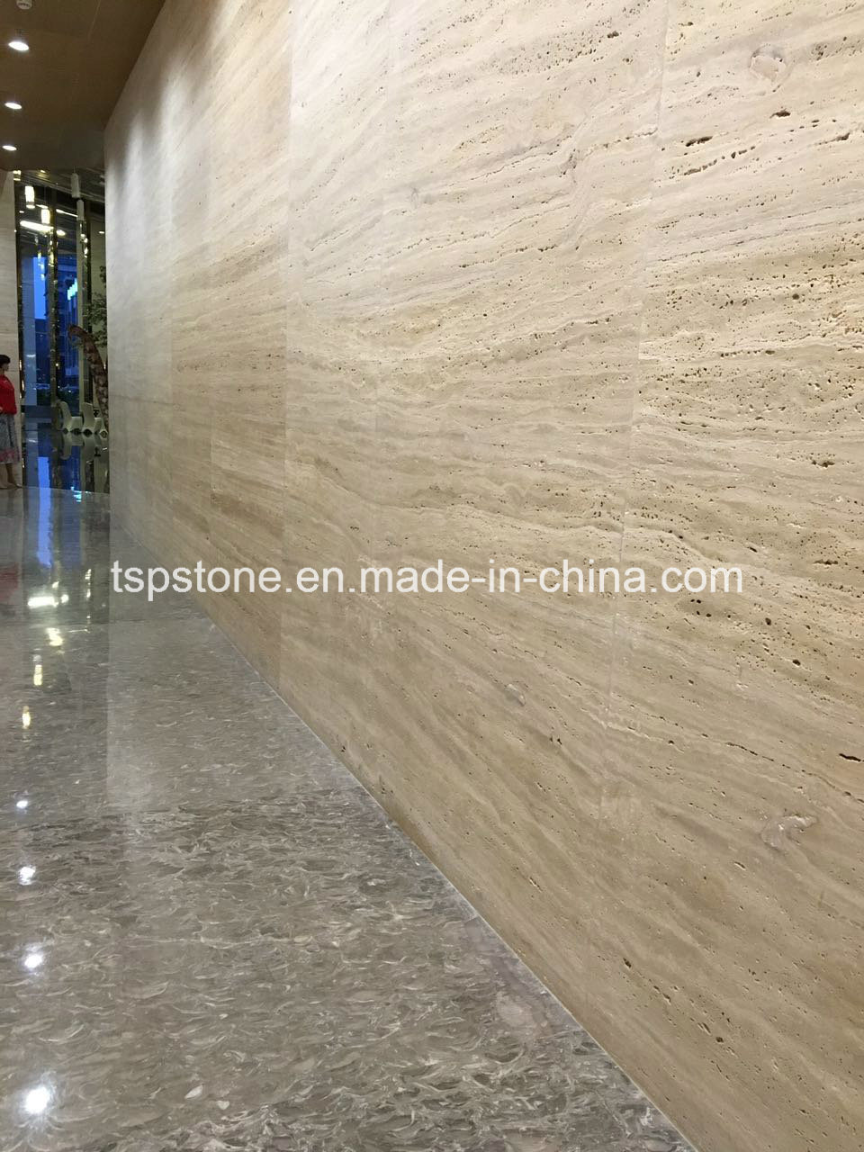popular travertine stone slab tiles