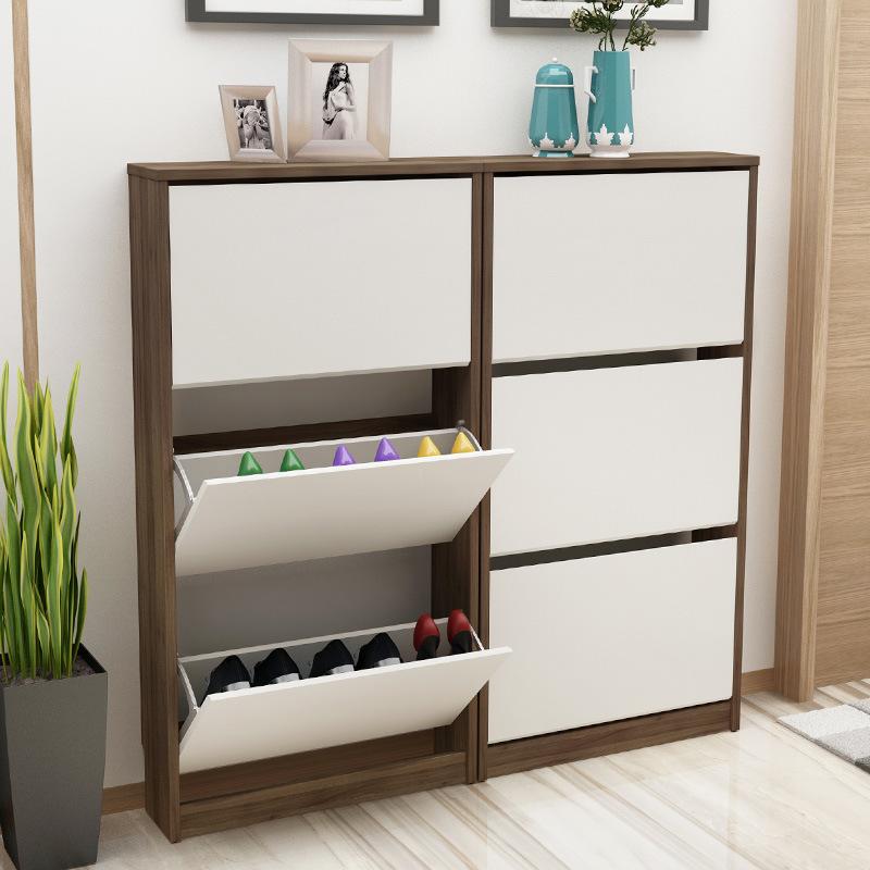 China Hot Sale Shoe Rack Wooden, Shoe Storage Cabinet