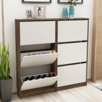 China Hot Sale Shoe Rack Wooden, Shoe Storage Cabinet