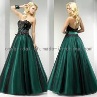 China Fabulous Beaded Strapless Feather Prom Dresses (E016 ...