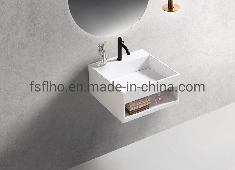 China Small Bathroom Wall Mounted Counter Basin Toilet Corner Basin China Bathroom Vanity Bathroom