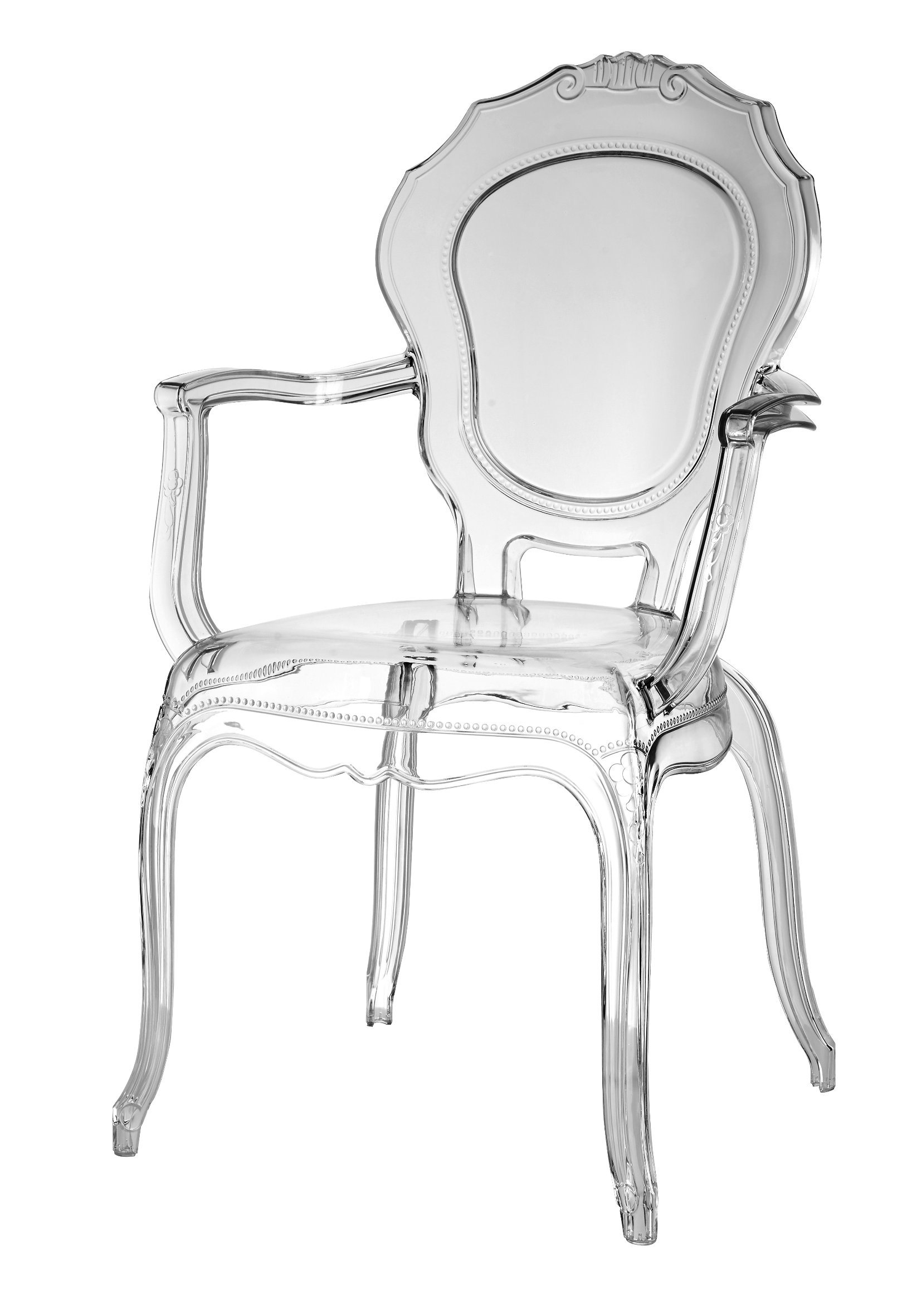 Plastic Clear Chair Hot Item Modern Leisure Dining Clear Resin Bella Plastic French Louis Chairs Princess Chair