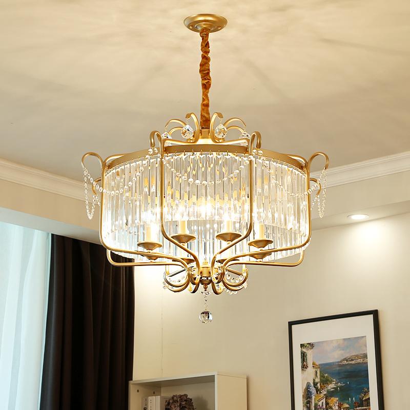 china victorian crystal pendant light