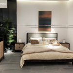 Modern Chinese Style Solid Wood Bedroom Furniture For Home Furniture