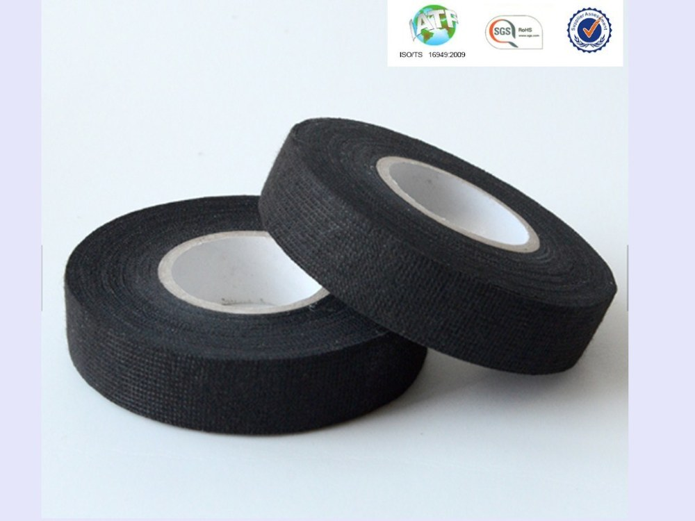 medium resolution of sample good sticky black wire harness fleece tape for resisting abrasions