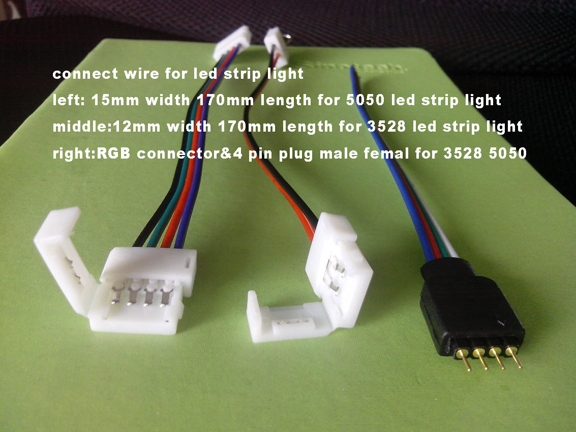 5050 rgb led strip wiring diagram fender noiseless pickups china flexible 4 pin male femal connector