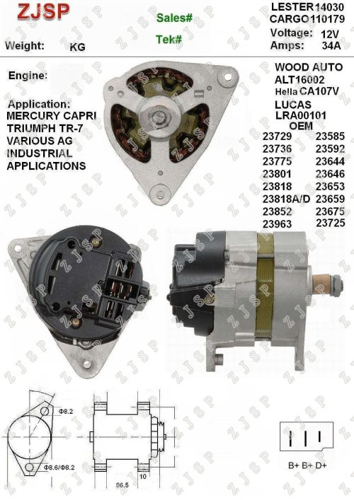 small resolution of  diagram on mercury capri bosch alternator wiring pigtail bosch alternator plug on