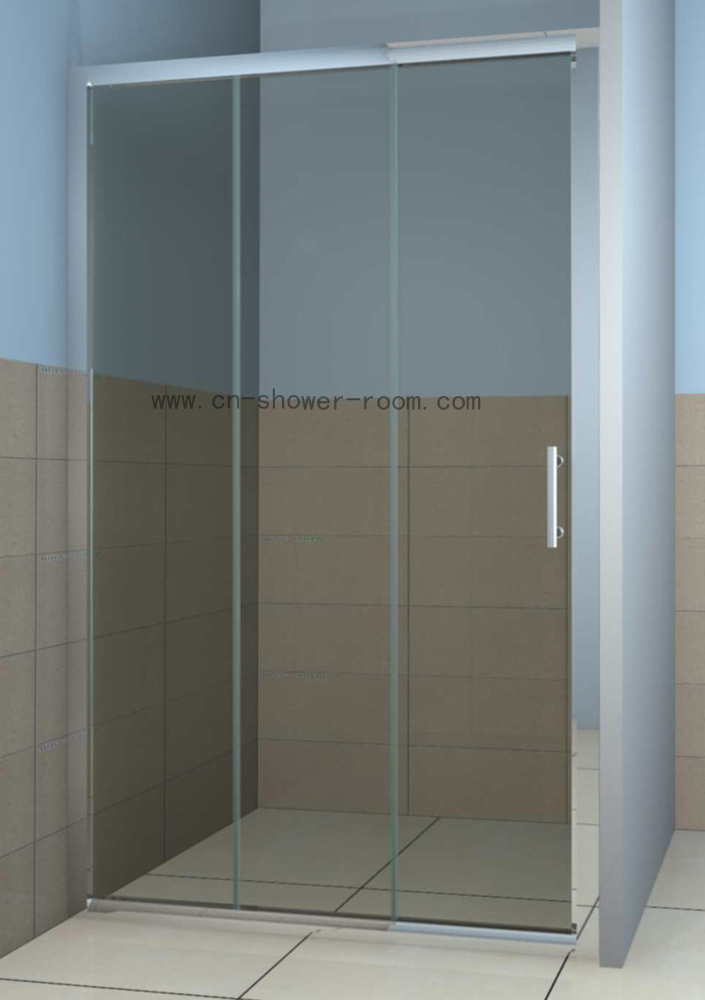 China Three Sliding Panel Shower Door