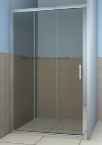 China Three Sliding Panel Shower Door - China Shower ...