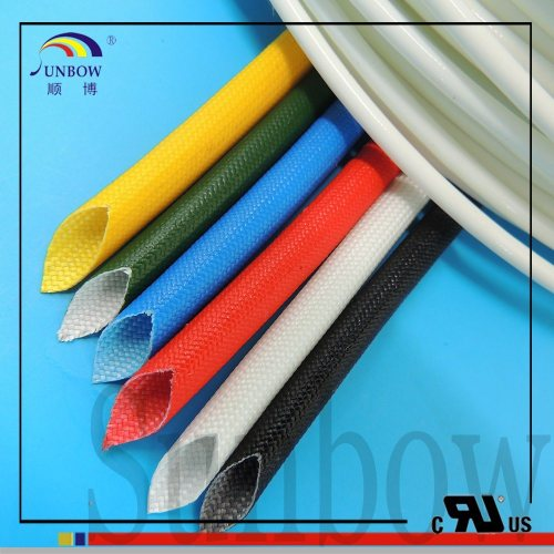 small resolution of 1 5kv silicone resin fiberglass sleeve for wire harness