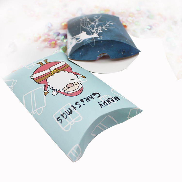 hot item custom logo pillow cases gift packaging box with handle cord