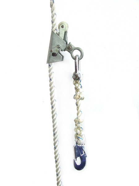 China Steel Wire Rope Climbing Fall Arrester (CFA Type