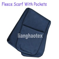 FLEECE SCARF WITH POCKETS PATTERN | Lena Patterns