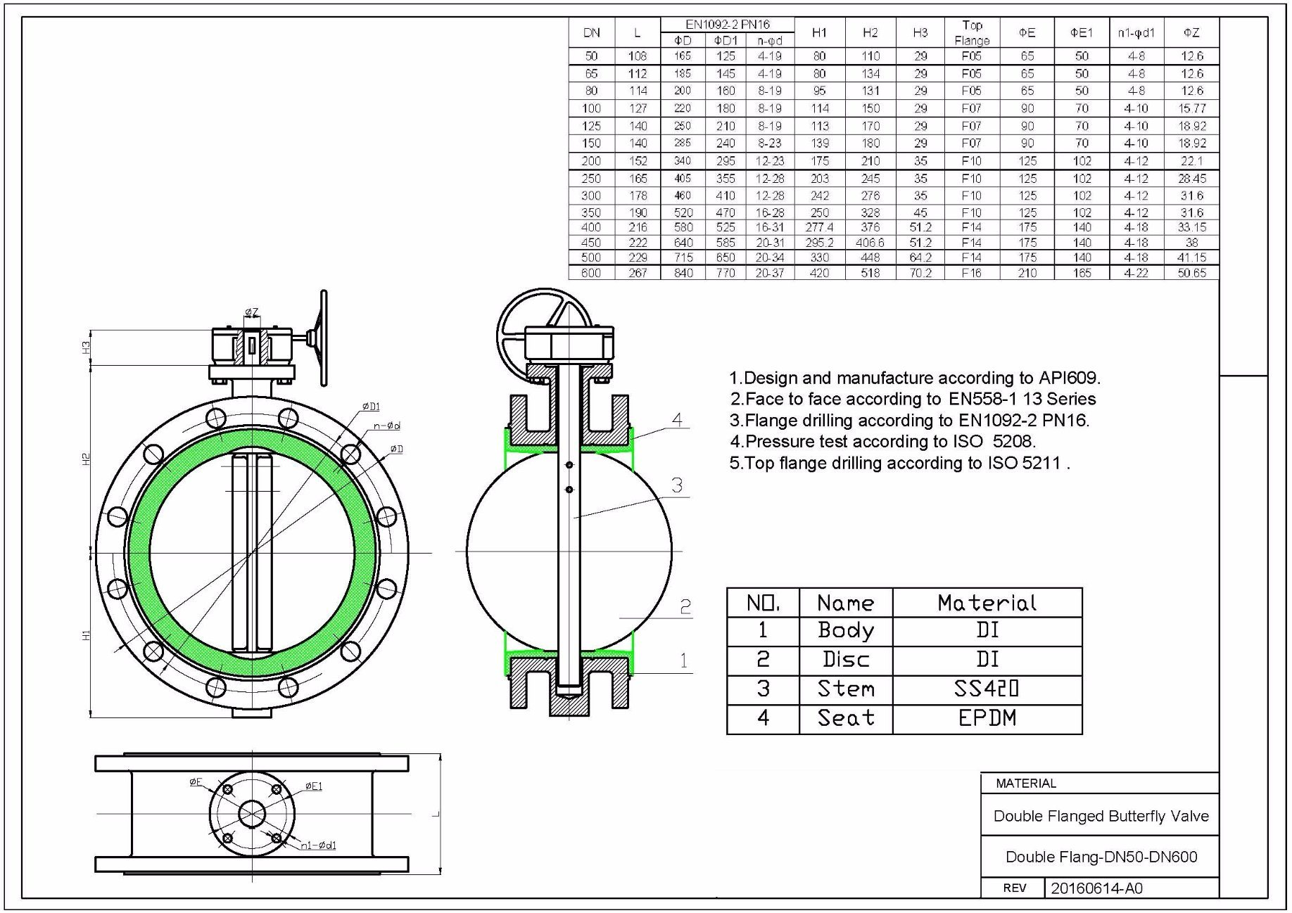 hight resolution of china dn50 600 butterfly valve double flange type price china dn50 butterfly valve double flange swing check valve