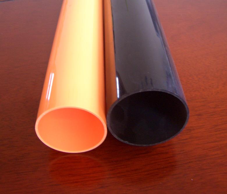 China Rigid PVC Pipe, Plastic Tube Fitting RoHS - China rigid plastic profile, plastic tube for wire