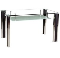 Modern Tempered Glass Dining Table (DT003) - China Dining ...