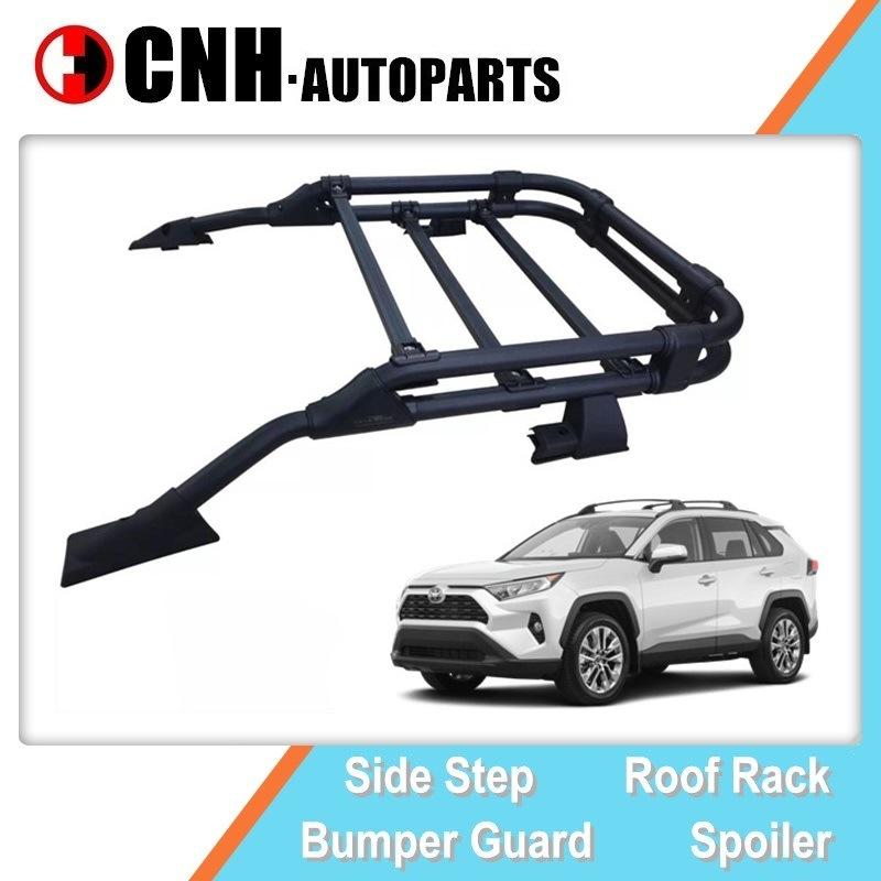 hot item oe design roof rack luggage carrier top cargo basket for toyota rav4 2019 2020