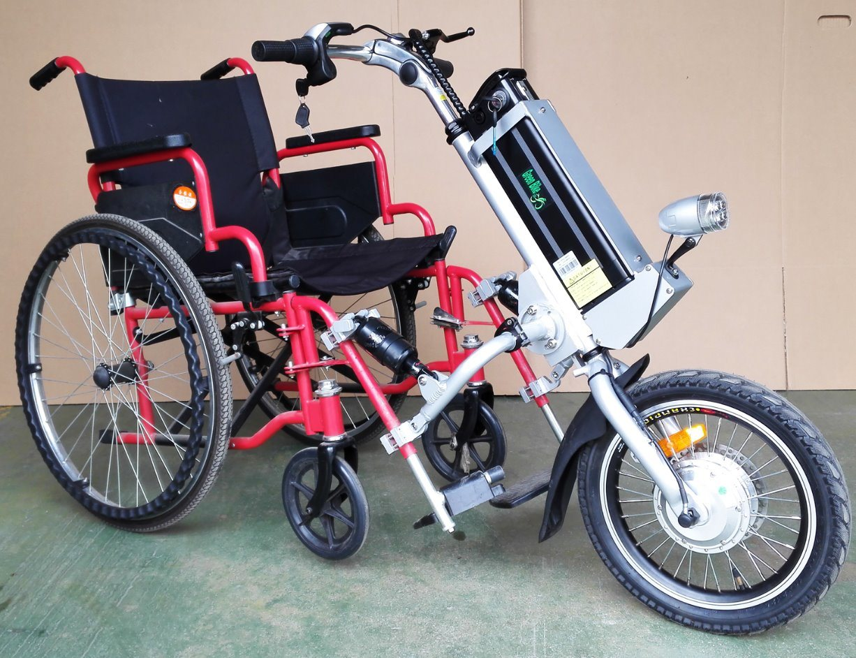 Chair Bike Hot Item Wheel Chair Electric Bike Trailer
