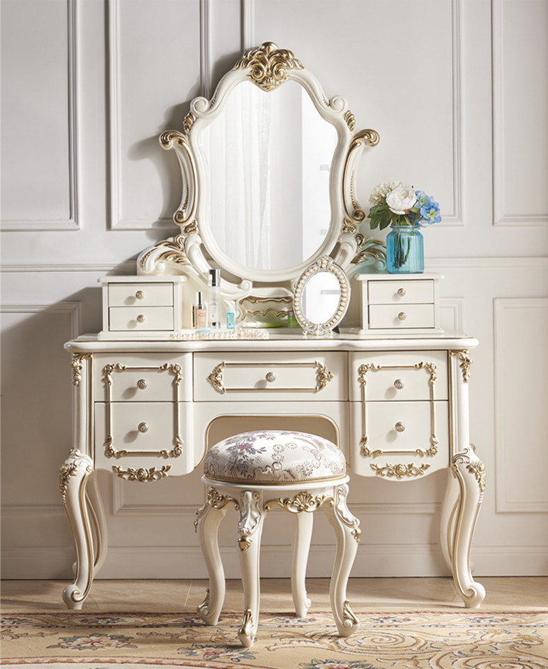 Classic white walls with glitz. China Simple Classical Home Furniture Bedroom Set Dressing Table With Mirror China Double Dressing Table Mirrored Dressing Table