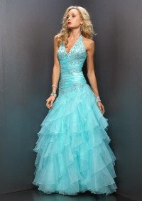 China Green Blue Party / Prom Dresses (RS-153) - China ...