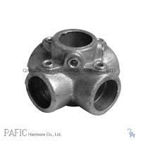 China Malleable Iron Pipe Fittings, Four Way Fitting