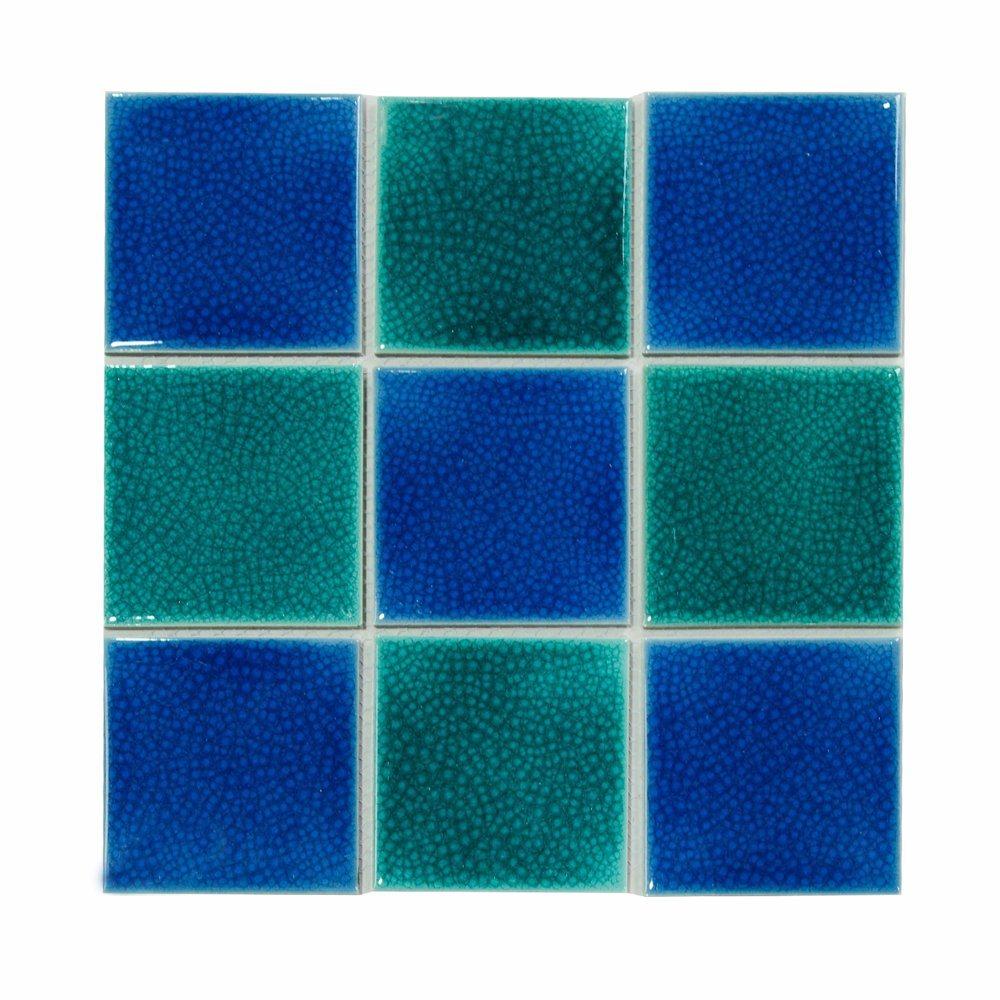 swimming pool ceramic mosaic