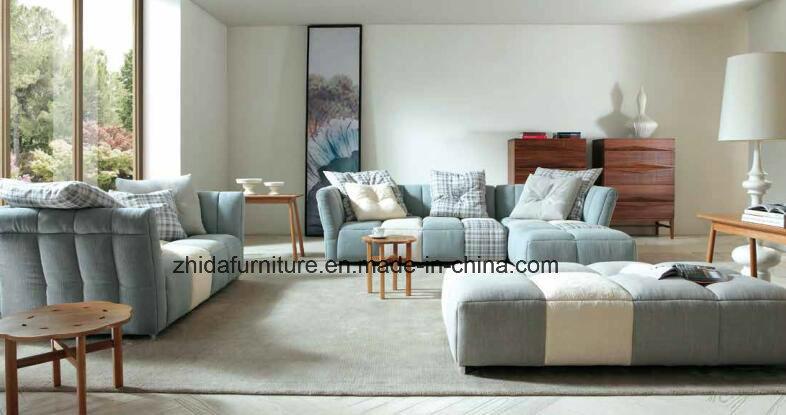 high end fabric sectional sofa set