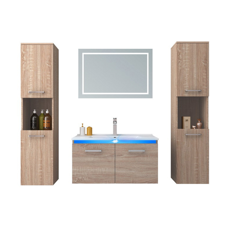 High Quality Bathroom Vanity Set New Design Bathroom Cabinet Made In China China High Quality Bathroom Vanity Set New Design Bathroom Cabinet