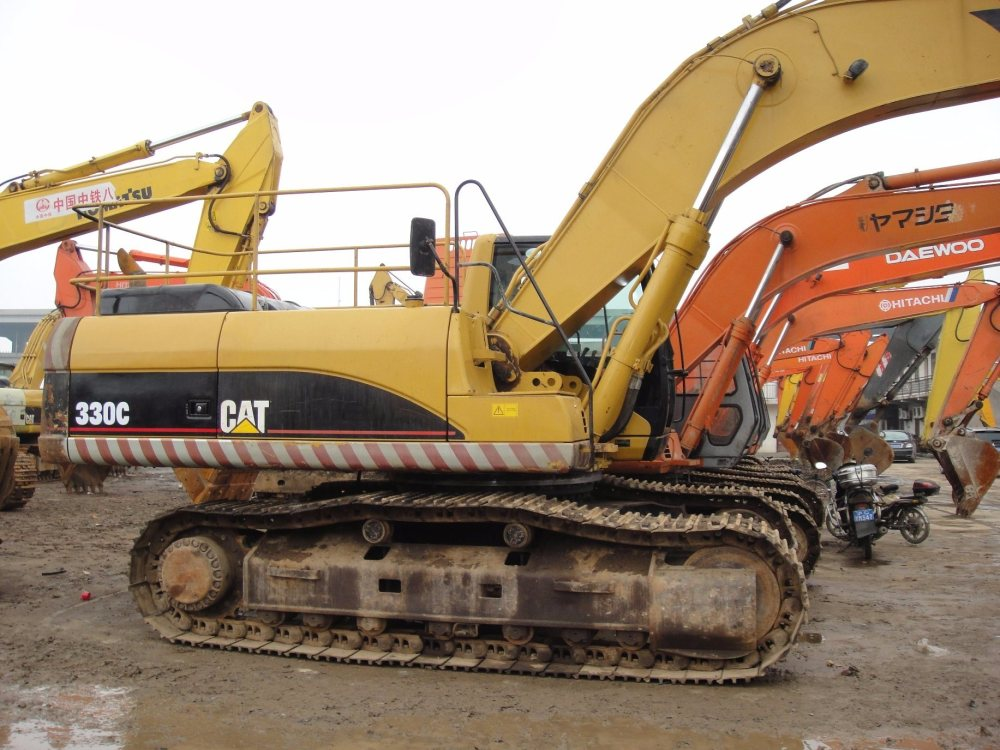 medium resolution of china used cat 330 excavator 330bl excavator caterpillar 330b excavator cat 330c cat 330d for sale china caterpillar 330 excavator