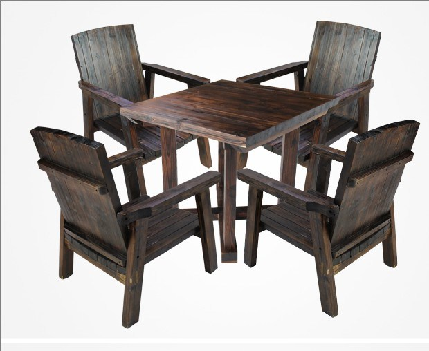 china charring fir wood chair and table