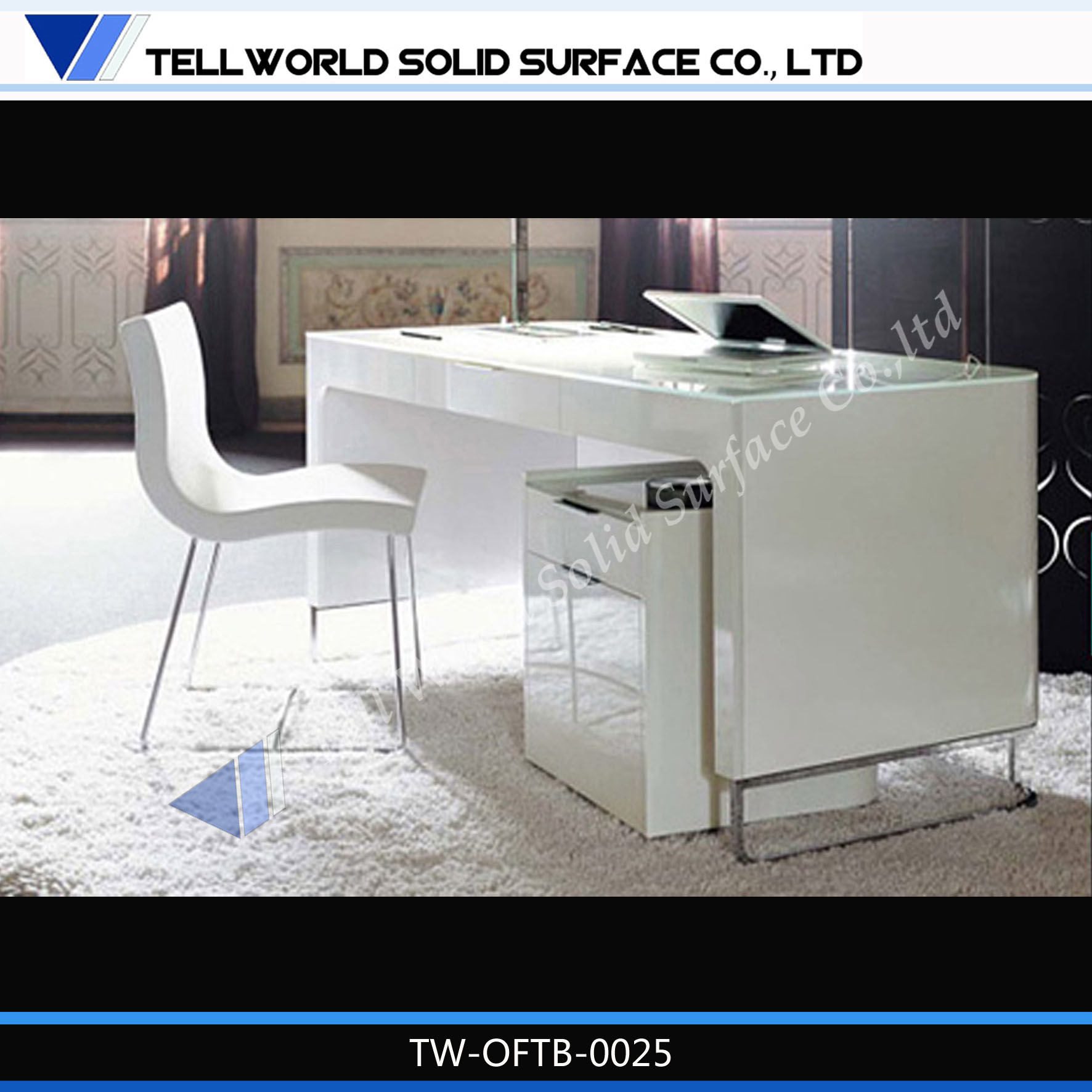 China Marble Solid Surface Office Furniture Executive Table
