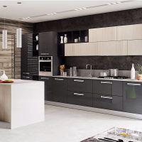 China Modern Simple Wood Modular Kitchen Cabinet Indoor ...