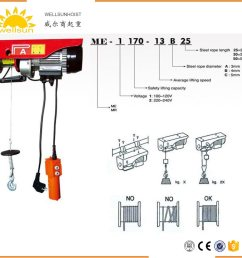 china portable and durable small home lift electric hoist winch with elevator motor china hoist electric hoist [ 1417 x 1380 Pixel ]